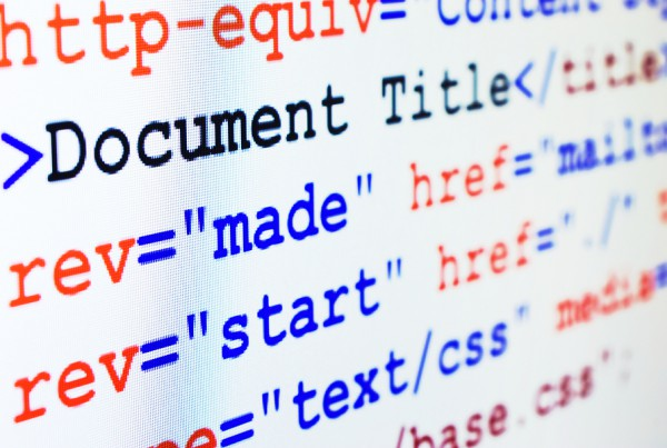 Html Source Code Of Web Page