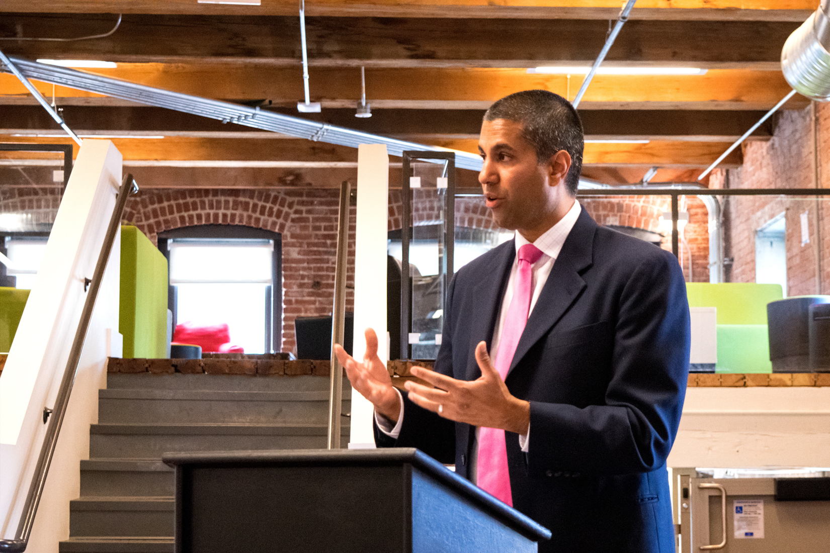 Ajit Pai Discusses his Digital Empowerment Agenda at Think Big